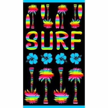Badlaken/badlaken strand print surf 100 x 175 cm