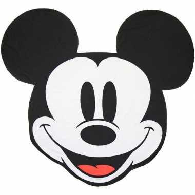 Badlaken in de vorm van mickey mouse 130 cm