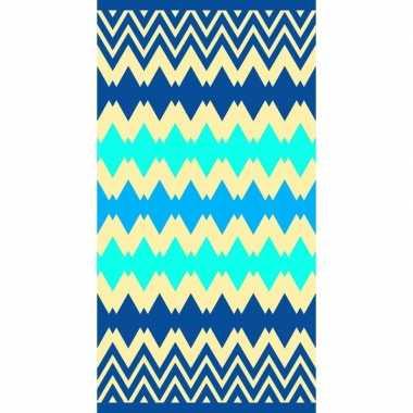 Blauw badlaken kenton 90 x 170