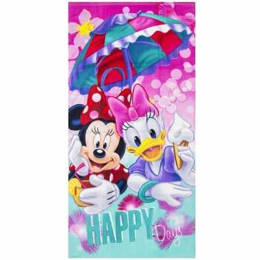 Disney badlaken/badlaken minnie en katrien 70 x 140 cm