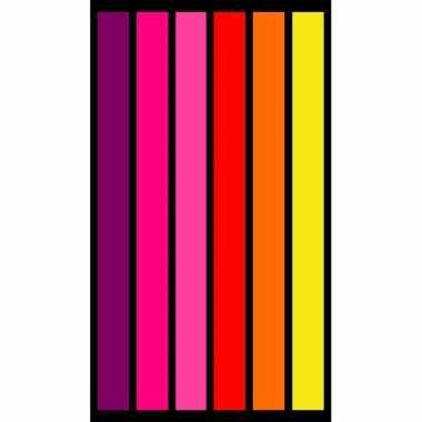 Gekleurd badlaken happy chic 95/100 x 175