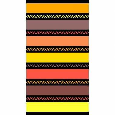 Gekleurd badlaken twisty safran 95/100 x 175