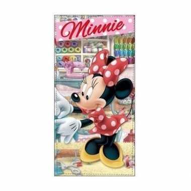 Minnie mouse atelier badlaken/badlaken atelier 70 x 140 cm