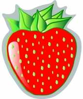 Badlaken aardbei strawberry 120 x 150