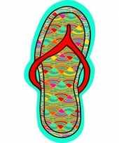 Badlaken slipper flip flop 90 x 180