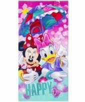 Disney badlaken badlaken minnie en katrien 70 x 140 cm