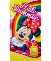 Disney minnie mouse summer badlaken badlaken 70 x 140 cm