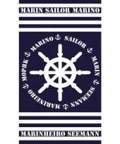 Gekleurd badlaken marinheiro 95 100 x 175