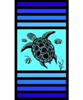 Gekleurd badlaken sandy tortoise 95 100 x 175