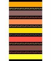Gekleurd badlaken twisty safran 95 100 x 175