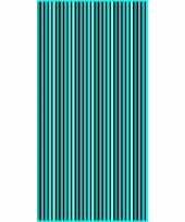 Gekleurd streepjes badlaken marbella verticaal 90 x 170