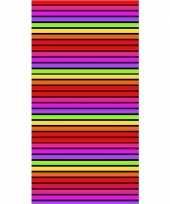 Gekleurd streepjes badlaken matira 90 x 170