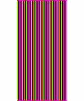 Gekleurd streepjes badlaken paloma verticaal 90 x 170