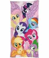 Katoenen badlaken met my little pony print 70 x140 cm