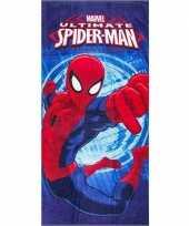 Marvel spiderman badlaken badlaken blauw 70 x 140 cm